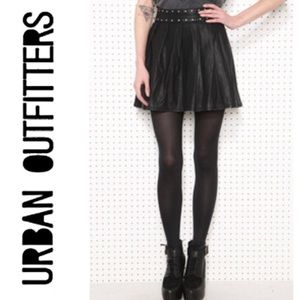 Urban Outfitters Silence+Noise Faux Leather Skirt